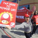 Pacer inspiring others at LA Marathon 2017