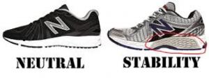 stability running shoe